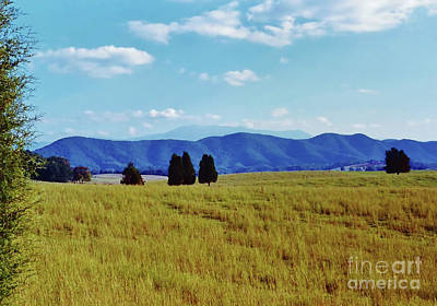Photograph - Blue Ridge Mountains by D Hackett