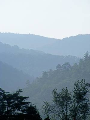 Eddie Armstrong Photograph - Blue Ridge Mountains by Eddie Armstrong