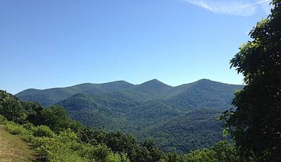 Photograph - Blue Ridge Mountains by Francis Chester