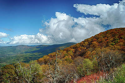 Photograph - Blue Ridge Mountains In The Fall 1 by Lara Ellis