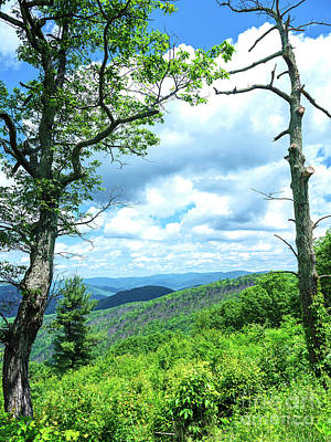 Photograph - Blue Ridge Mountains by John Rizzuto