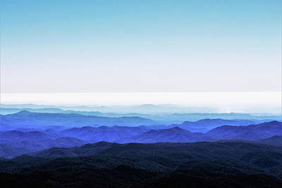Painting - Blue Ridge Mountains by Mindy Newman