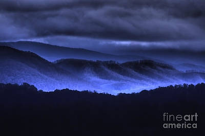 Photograph - Blue Ridge Mountains by Photography by Laura Lee