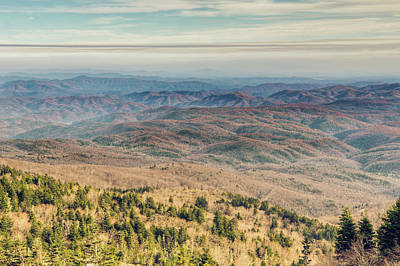 Photograph - Blue Ridge Mountains by Ray Devlin