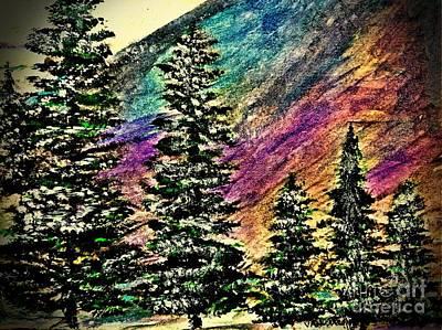 Blue Ridge Mountains Original by Scott D Van Osdol