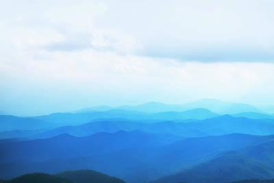 Photograph - Blue Ridge Mountains by Scott Masterton