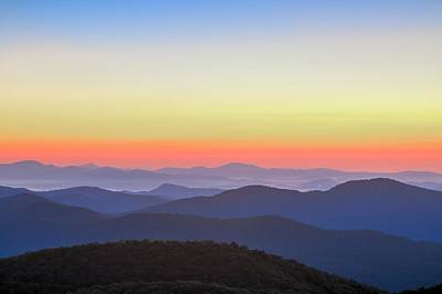 Photograph - Blue Ridge Mountains Vista by Carol Montoya