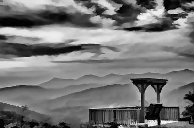 Photograph - Blue Ridge Overlook by Ginger Wakem