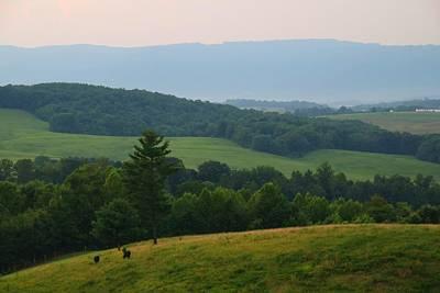 Photograph - Blue Ridge Overlook by Kathryn Meyer
