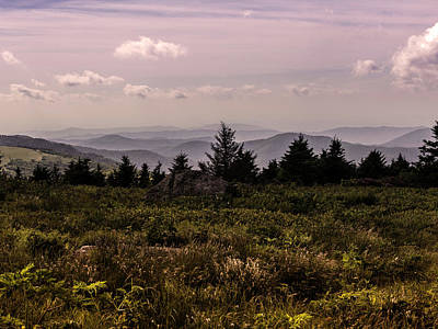 Photograph - Blue Ridge Overlook by Kevin Senter