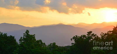 Photograph - Blue Ridge Panoramic by Lew Davis