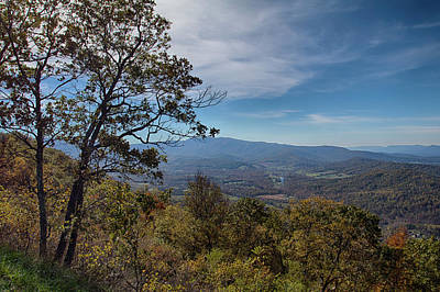 Photograph - Blue Ridge Parkway 1 by Leah Palmer