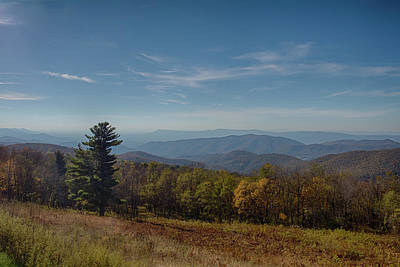 Photograph - Blue Ridge Parkway 2 by Leah Palmer