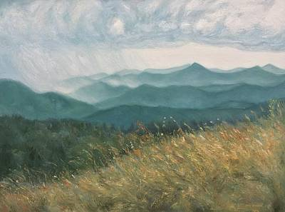 Ann Holder Painting - Blue Ridge Parkway by Ann Holder