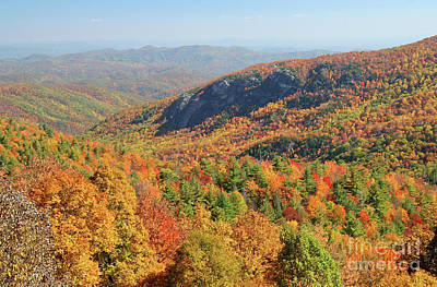 Photograph - Blue Ridge Parkway In Autumn by Kevin McCarthy