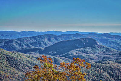 Photograph - Blue Ridge Parkway by Jane Luxton