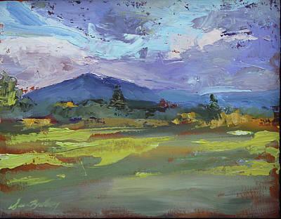 Painting - Blue Ridge Parkway Lookout by Susan Bradbury