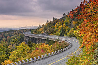 Photograph - Lynn Cove Viaduct-blue Ridge Parkway  by Ken Barrett