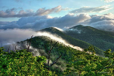 Photograph - Blue Ridge Parkway Mountain Jumpers Art by Reid Callaway