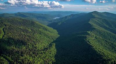 Mitchell Butte Photograph - Blue Ridge Parkway Rainbow Gap by Ryan Phillips