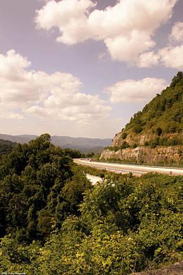Photograph - Blue Ridge Parkway Ridge 2 by Debra Forand