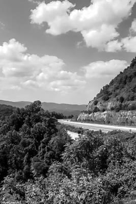 Photograph - Blue Ridge Parkway Ridge by Debra Forand