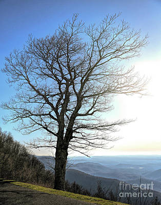 Photograph - Blue Ridge Parkway - Rocky Knob - Floyd Virginia by Kerri Farley