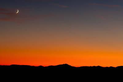 Photograph - Blue Ridge Parkway Sunset by David Freuthal