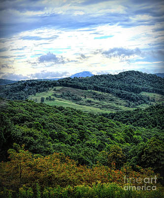 Photograph - Blue Ridge Parkway Views - Buffalo Mountain - Floyd Virginia  by Kerri Farley