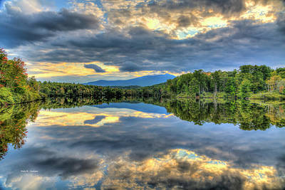 Photograph - Blue Ridge Reflections by Bluemoonistic Images
