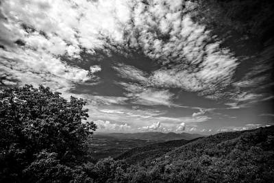 Photograph - Blue Ridge Sky by Alan Raasch