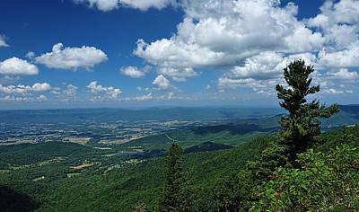 Photograph - Blue Ridge Summer Days by Lara Ellis