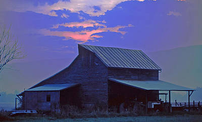 Photograph - Blue Ridge Sunrise by Bill Jonscher