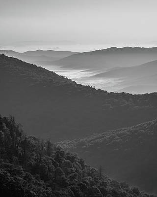 Photograph - Blue Ridge Sunrise by Bill Martin