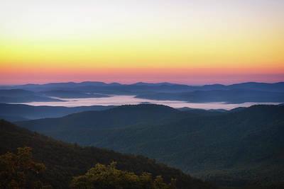 Photograph - Blue Ridge Sunrise by Scott Masterton