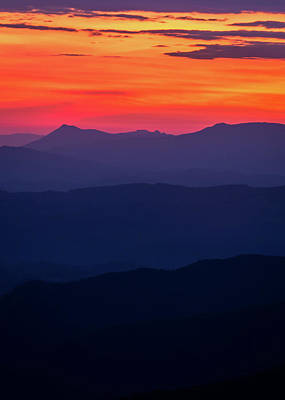Photograph - Blue Ridge Sunrise by Serge Skiba