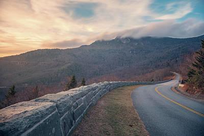 Photograph - Blue Ridge Sunset by Ray Devlin