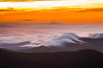 Photograph - Blue Ridge Valley Of Clouds by Serge Skiba