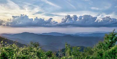 Photograph - Blue Ridge View by Heather Applegate