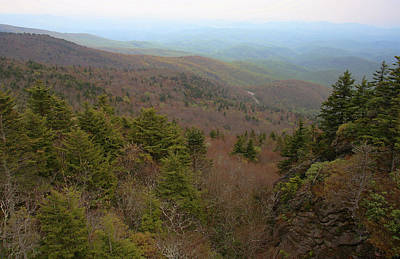 Photograph - Blue Ridge View by Karol Livote
