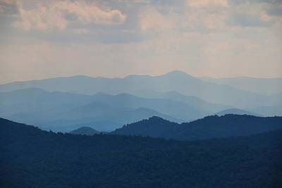 Photograph - Blue Ridges 1 by Kathryn Meyer