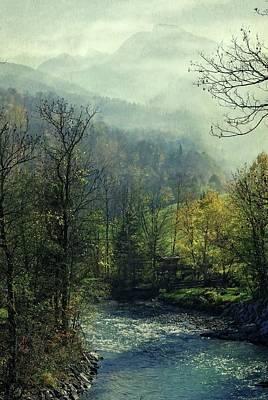 Susann Serfezi Photograph - Blue River by AugenWerk Susann Serfezi