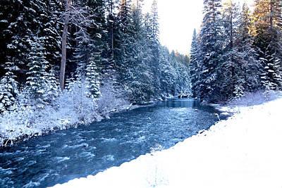 Photograph - Blue River by Carol Groenen