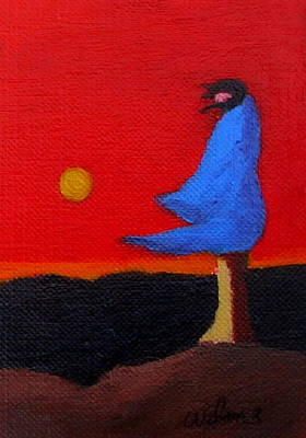 Painting - Blue Robe by Fred Wilson