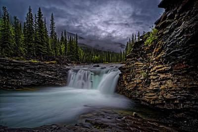 Photograph - Blue Rock by Edward Kovalsky
