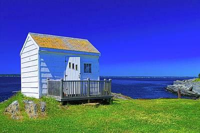 Photograph - Blue Rocks Nova Scotia by John Babis