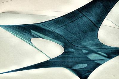 Blue Sails Art Print