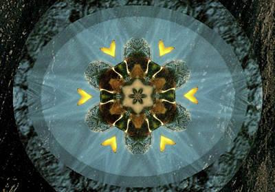Digital Art - Blue Satin by Max DeBeeson
