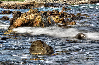 Photograph - Blue Sea by LaRoque Photography