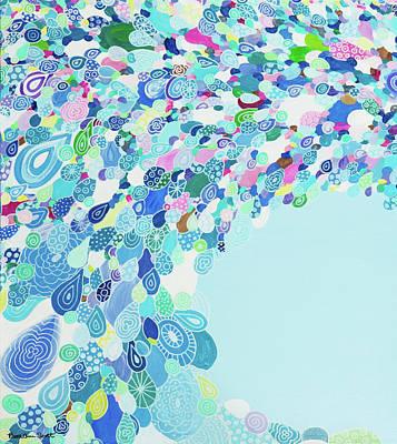 Painting - Blue Sea by Beth Ann Scott